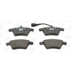 Brake Pad Set, disc brake Width: 73, 75mm, Height 1: 75mm, Height 2: 73mm, Thickness 1: 18,2mm, Thickness: 17,7mm with OEM Number 7L6698151F