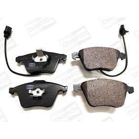 Bremsbelagsatz, Scheibenbremse Breite: 72,8mm, Dicke/Stärke: 20,2mm mit OEM-Nummer 4F0 698 151 B
