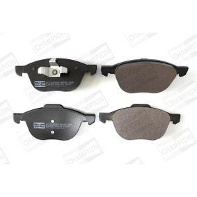 Bremsbelagsatz, Scheibenbremse Breite: 62, 67mm, Höhe 1: 67mm, Höhe 2: 62mm, Dicke/Stärke: 17,5mm mit OEM-Nummer BPYK-33-23-ZB9C