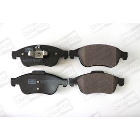 Bremsbelagsatz, Scheibenbremse Breite: 60, 65mm, Höhe 1: 60mm, Höhe 2: 65mm, Dicke/Stärke: 18,1mm mit OEM-Nummer 8660 004 545