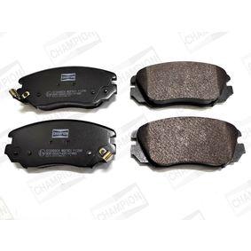 Bremsbelagsatz, Scheibenbremse Breite: 60mm, Dicke/Stärke: 18,2mm mit OEM-Nummer 1605185
