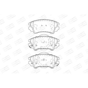 Brake Pad Set, disc brake Width: 66mm, Thickness: 18,9mm with OEM Number 1605265