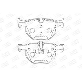 Brake Pad Set, disc brake 573285CH 3 Saloon (E90) 335d 3.0 MY 2009
