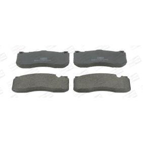 Bremsbelagsatz, Scheibenbremse Breite: 73mm, Dicke/Stärke: 16,7mm mit OEM-Nummer 3411 6 786 044