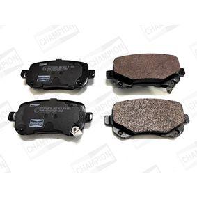 Bremsbelagsatz, Scheibenbremse Breite: 53mm, Dicke/Stärke: 16,8mm mit OEM-Nummer K68029887AA