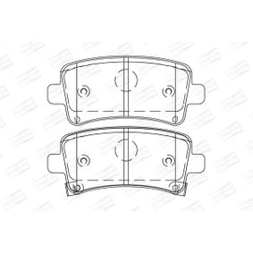 Brake Pad Set, disc brake Width: 47mm, Thickness: 17,2mm with OEM Number 16 05 319