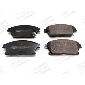 Bremsbelagsatz, Scheibenbremse Breite: 61,2mm, Dicke/Stärke: 18,8mm mit OEM-Nummer 95 51 6193