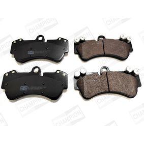 Brake Pad Set, disc brake Width: 99mm, Thickness: 16,2mm with OEM Number 7L6 698 151F