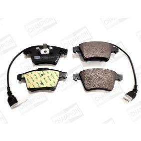 Brake Pad Set, disc brake Width: 73, 75mm, Height 1: 73mm, Height 2: 75mm, Thickness 1: 18,5mm, Thickness: 19,6mm with OEM Number 7L6 698 151 F