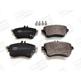 Bremsbelagsatz, Scheibenbremse Breite: 71,6mm, Dicke/Stärke: 19,3mm mit OEM-Nummer A 008 420 04 20