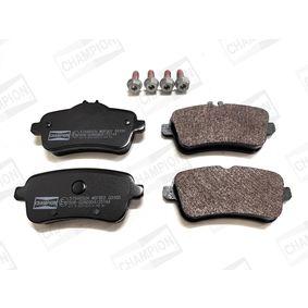 Bremsbelagsatz, Scheibenbremse Breite: 49,7mm, 59,5mm, Dicke/Stärke: 18,4mm mit OEM-Nummer 006 420 3420