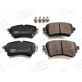 Brake Pad Set, disc brake Width: 59mm, Thickness: 17,5mm with OEM Number 8W0 698 451K