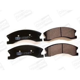 Bremsbelagsatz, Scheibenbremse Breite: 61,05mm, Dicke/Stärke: 18,7mm mit OEM-Nummer 5093260AA