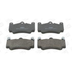 Bremsbelagsatz, Scheibenbremse Breite: 89mm, Dicke/Stärke: 16,5mm mit OEM-Nummer 996 351 949 10