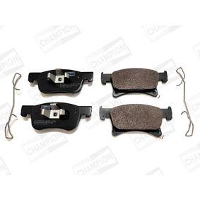 Bremsbelagsatz, Scheibenbremse Breite: 5mm, 62mm, 68mm, Dicke/Stärke: 18,4mm mit OEM-Nummer 1 605 281