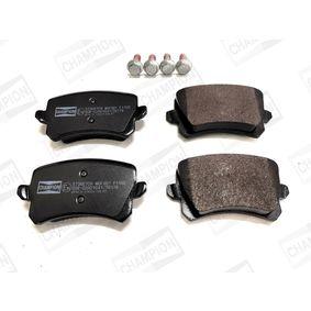 Bremsbelagsatz, Scheibenbremse Breite: 56mm, Dicke/Stärke: 16,8mm mit OEM-Nummer 3C0 698 451E