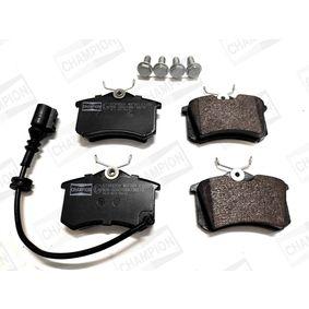 Bremsbelagsatz, Scheibenbremse Breite: 53mm, Dicke/Stärke: 17mm mit OEM-Nummer 8671016188