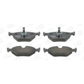 Bremsbelagsatz, Scheibenbremse Breite: 43,7mm, Dicke/Stärke: 17,3mm mit OEM-Nummer 93 194 192