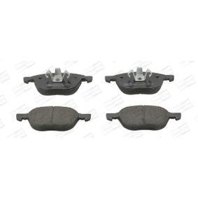 Bremsbelagsatz, Scheibenbremse Breite: 58, 67mm, Höhe 1: 58mm, Höhe 2: 67mm, Dicke/Stärke: 17,2mm mit OEM-Nummer 2048661