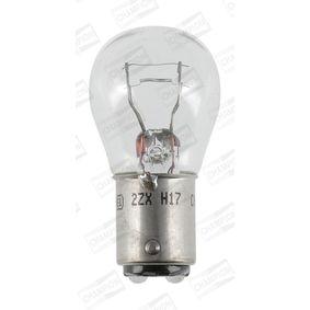 Крушка с нагреваема жичка, стоп светлини / габарити P21/4W, 12волт, BAZ15d, 21/4ват CBM43S
