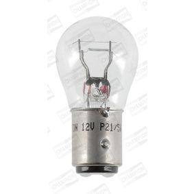 Bulb, indicator transparent 12V 21/5 WW, P21/5W, BAY15d CBM44S FORD FOCUS, FIESTA, MONDEO