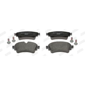 Brake Pad Set, disc brake Height 1: 59mm, Thickness: 17,5mm with OEM Number 8W0698451K