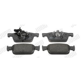 JURID  573675J Kit de plaquettes de frein, frein à disque Hauteur 1: 64,1mm, Épaisseur: 17,1mm
