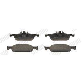 Bremsbelagsatz, Scheibenbremse Höhe 1: 49mm, Dicke/Stärke: 16,9mm mit OEM-Nummer 410605536R