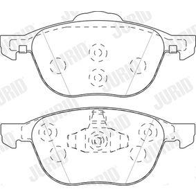 Bremsbelagsatz, Scheibenbremse Höhe 1: 58,4mm, Höhe 2: 66,9mm, Dicke/Stärke: 17,2mm mit OEM-Nummer CV61 2K021 BA