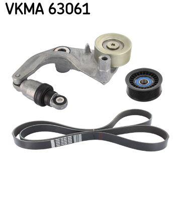SKF  VKMA 63061 V-Ribbed Belt Set Length: 2061mm, Number of ribs: 7