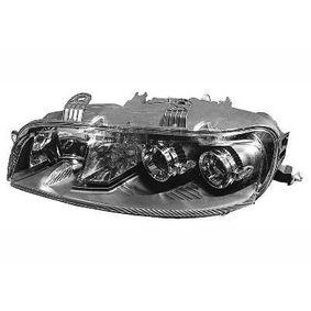 Headlight 1620965 PUNTO (188) 1.2 16V 80 MY 2004