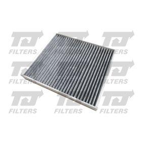 Filter, Innenraumluft Länge: 272mm, Breite: 234mm, Höhe: 32mm mit OEM-Nummer 17 18 042