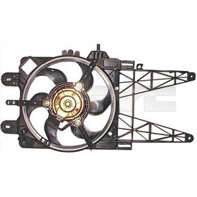 Fan, radiator 809-0023 PUNTO (188) 1.2 16V 80 MY 2006
