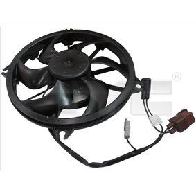 Fan, radiator 826-0009 407 SW (6E_) 2.0 HDi MY 2010