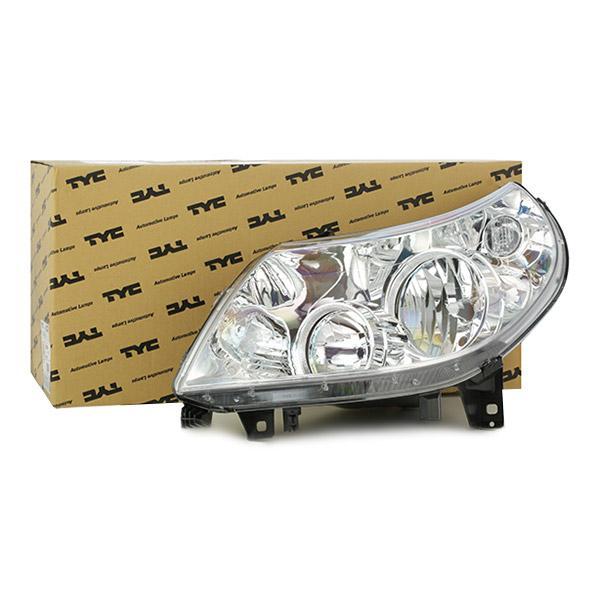 VAN WEZEL  1651961 Koplamp voor voertuigen met lichtveldregeling (electrisch), voor rechtsrijdend verkeer