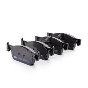FERODO PREMIER ECO FRICTION FDB4907 Bremsbelagsatz, Scheibenbremse Höhe 1: 49mm, Dicke/Stärke: 16,9mm