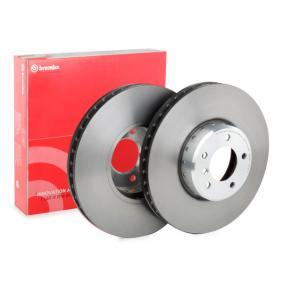 BREMBO TWO-PIECE DISCS LINE 09.C393.13 Bremsscheibe Bremsscheibendicke: 36mm, Lochanzahl: 5, Ø: 348mm