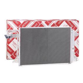 Kondensator, Klimaanlage Netzmaße: 550x392x16, Kältemittel: R 134a mit OEM-Nummer 1K0.820.411 G