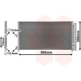 Condenser, air conditioning 17005289 PUNTO (188) 1.2 16V 80 MY 2006