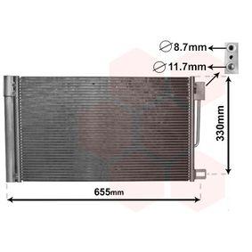 Kondensator, Klimaanlage mit OEM-Nummer 13310103