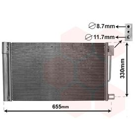 Kondensator, Klimaanlage Art. Nr. 17005314 120,00€
