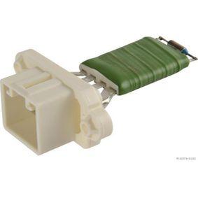 Widerstand, Innenraumgebläse Spannung: 12V, Anschlussanzahl: 4 mit OEM-Nummer 2S6H-18B647-AC
