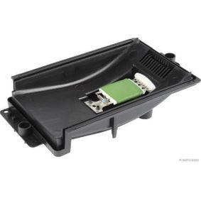 Widerstand, Innenraumgebläse Spannung: 12V, Anschlussanzahl: 7 mit OEM-Nummer 1J0 819022 A