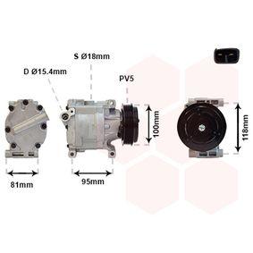 Compressor, air conditioning 1700K090 PANDA (169) 1.2 MY 2008