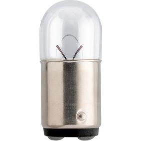 Glühlampe, Blinkleuchte R5W, BA15d, 24V, 5W 13822