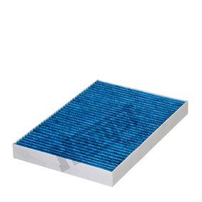 Filter, Innenraumluft Länge: 300,0mm, Breite: 204,5mm, Höhe: 30,0mm mit OEM-Nummer 4B0 819 439 B
