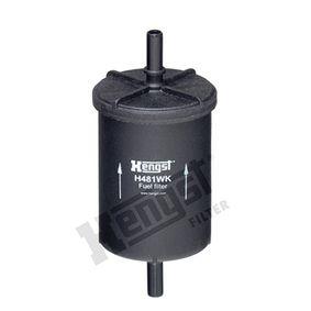 Kraftstofffilter Höhe: 143mm mit OEM-Nummer 156781