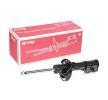 KYB Vorderachse rechts, Zweirohr, Gasdruck, Federbein, oben Stift 3348032