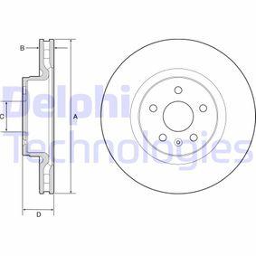 Bremsscheibe Bremsscheibendicke: 32mm, Lochanzahl: 5, Ø: 355mm mit OEM-Nummer 1025099