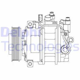 DELPHI Kompressor, Klimaanlage CS20475 mit OEM-Nummer 3D0820803T